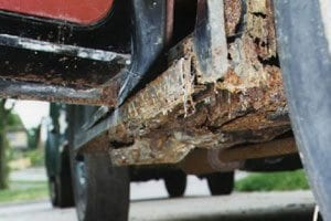 Undercarriage Rust